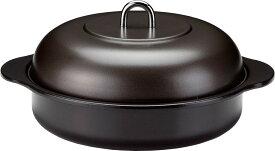 【送料込】 高木金属 ホーロー石焼いも器 24cm 電磁調理器対応 日本製 HA-IY24N 両手鍋