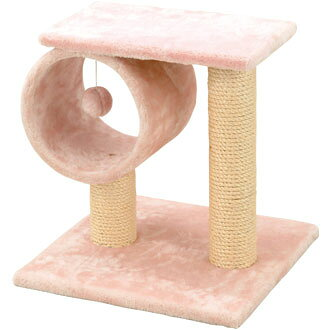 Pink cat Tower tunnel 37 × 37 × 39 cm