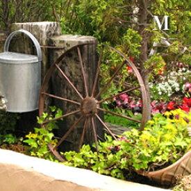 ガーデン アイアン製 車輪:Mサイズ(AIH01M50-140)