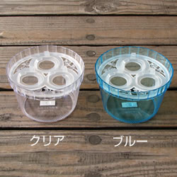 【3球用】プラ製 水栽培 ヒヤシンス ポット(鉢)
