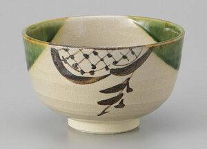 抹茶茶碗 抹茶碗 木箱入り 織部 丸茶碗 ラッピング込み 贈り物 プレゼント お祝い 織部 茶碗 土物