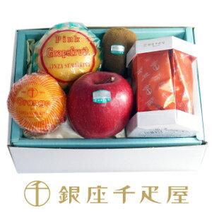 [ホワイトデー] 銀座千疋屋 想いを込めて(リンゴのチョコレート&フルーツ1)(お届け期間3/12〜3/14): 千疋屋 お菓子 ギフト 内祝い ホワイトデー