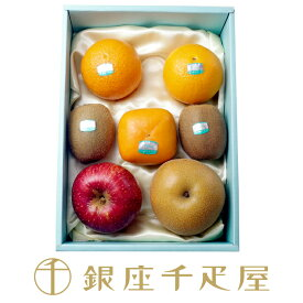 銀座千疋屋特選 【感謝の気持ち】季節の果物詰合せ : 千疋屋 フルーツ ギフト 内祝い クリスマス お歳暮
