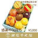 [内祝い]銀座千疋屋特選 【感謝の気持ち】季節の果物詰合せ