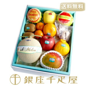 [送料無料] 銀座千疋屋特選 果物詰合せ : 千疋屋 フルーツセット ギフト 内祝い お歳暮