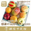 【送料込み】銀座千疋屋特選 【感謝の気持ち】季節の果物詰合 [ギフト][内祝い]