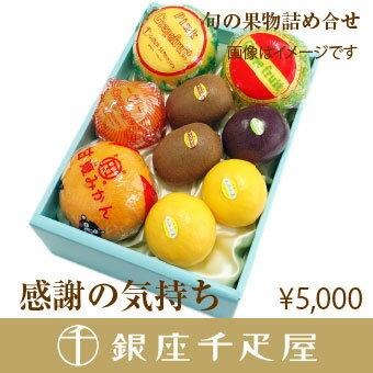 銀座千疋屋特選 【感謝の気持ち】季節の果物詰合せ [お中元][ギフト][内祝い]