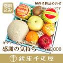 銀座千疋屋特選季節の果物詰合せ