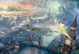 【1000P】Tinker Bell and Peter Pan Fly to Never Land(ピーターパン)