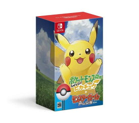 【Switch】ポケットモンスター Let's Go! ピカチュウ モンスターボールPlusセット
