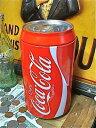 アメリカン雑貨 コカコーラ グッズ 缶型 大きなコインバンク 貯金箱