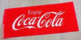 コカコーラ アメリカン雑貨 Coca Cola コカ・コーラ グッズ フェイスタオル RED