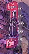 コカコーラボトル型大型コインバンク-HS0001