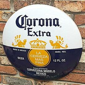 アメリカン雑貨 ドームサイン Corona Extra メタルサイン ガレージ 看板 ディスプレイ-BS0160