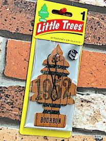 アメリカン雑貨 Little Trees リトルツリー BOUBON バーボン ウイスキー エアーフレッシュナー 芳香剤 カー用品 車用 車内