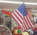 アメリカン雑貨 USA 星条旗 グッズ アメリカンスティックフラッグ 旗-LC0039