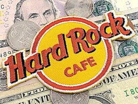 アメリカン雑貨 ワッペン アップリケ Hard Rock CAFE ハードロックカフェ アイロンパッチ ファッション小物 カスタマイズ