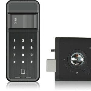 2台セット!!エピック(EPIC) ES-300D (暗証番号・ICカード・開き戸)電子錠 後付け 電子鍵 オートロック
