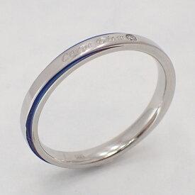 『送料無料』 サムシングブルーの綺麗カラーな指輪 ステンレスリング ペアリング リング 指輪 金属アレルギー アレルギーフリー ブルー シルバー ペアリング 華奢 316L  メンズ レディース ジルコニア 19juuku