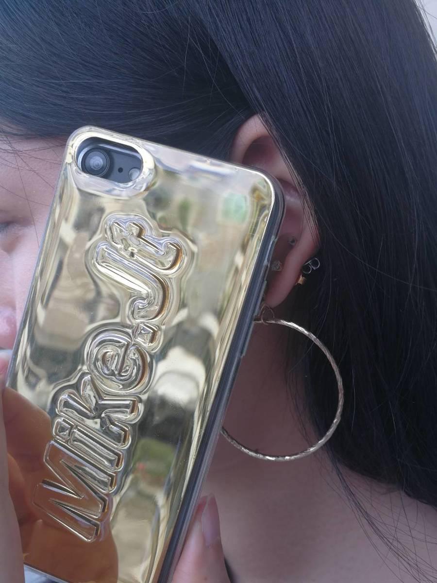 送料無料! srivi(シービー) GoldMirror  オリジナルカスタム携帯ケース★ モバイルケース スマホケース iPhonePlus iPhoneX