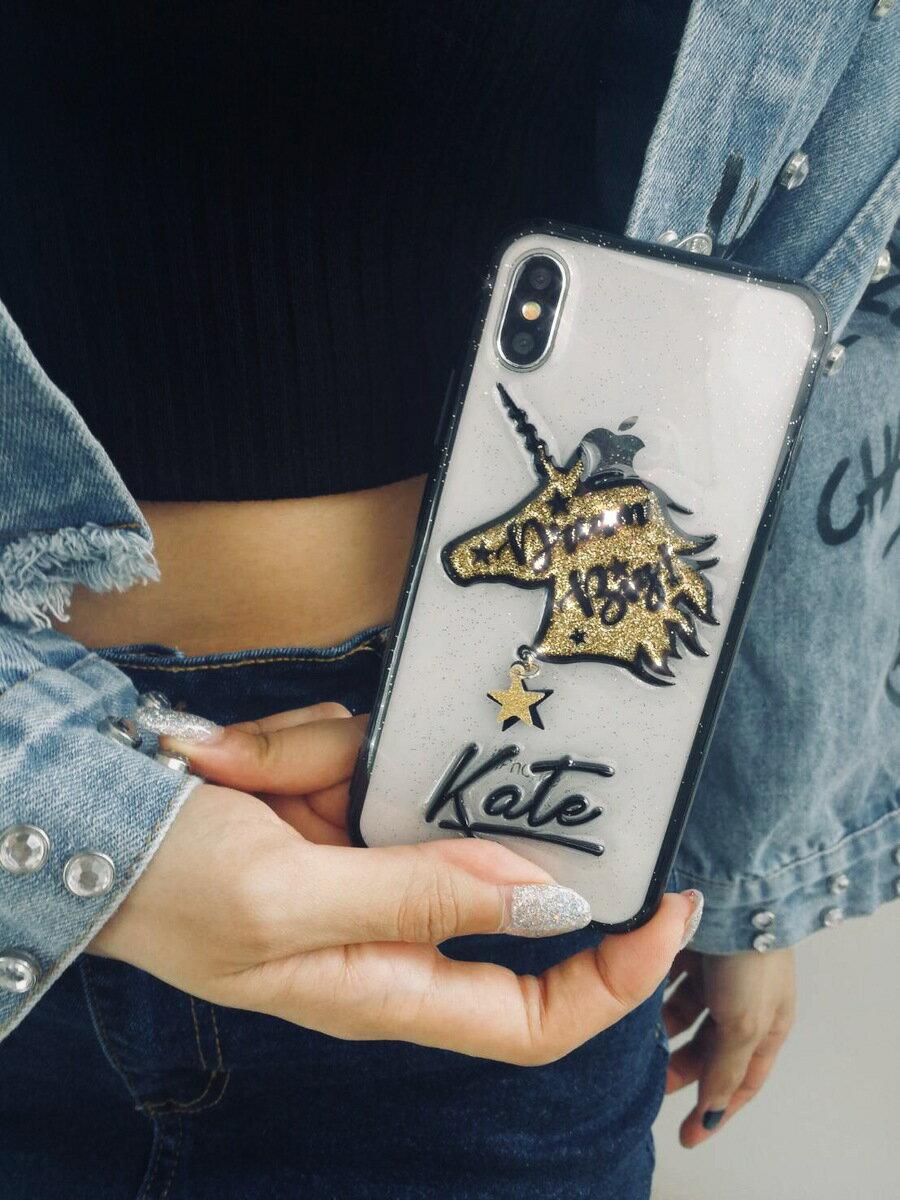 送料無料! srivi(シービー)Unicorn Dream big オリジナルカスタム携帯ケース★ モバイルケース スマホケース iPhone Plus iPhoneX