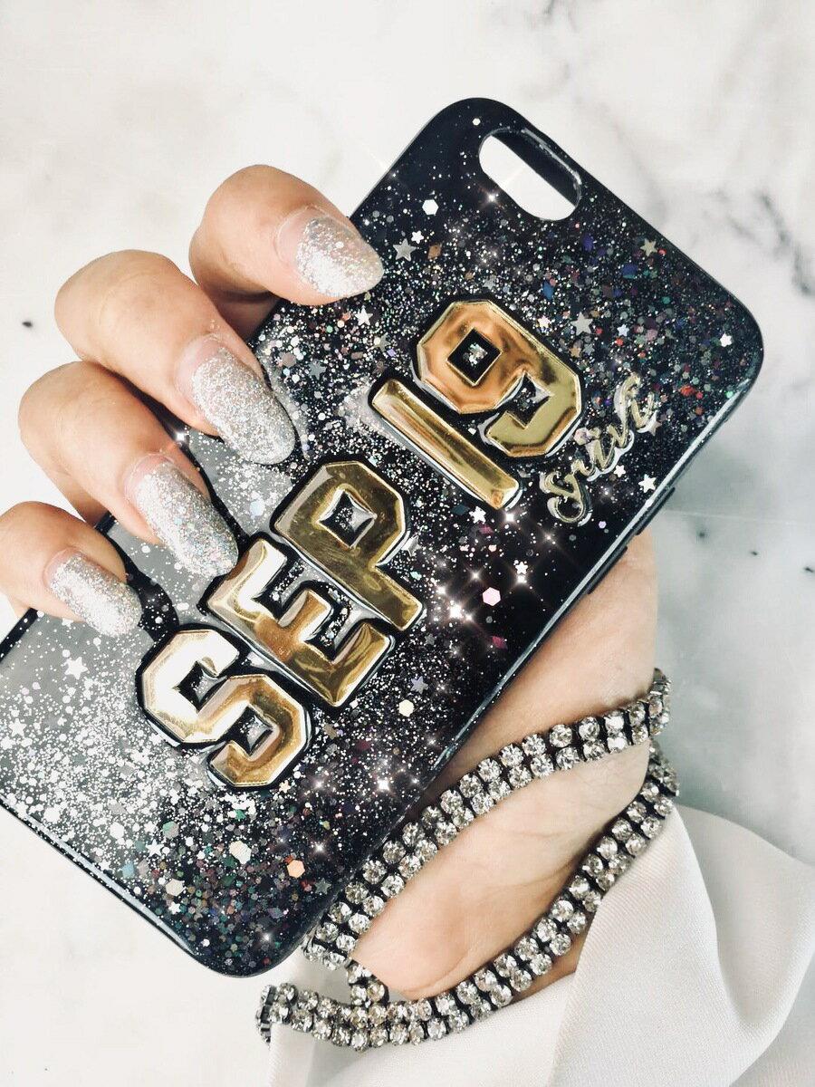 送料無料! srivi(シービー)Milky Way-Gold オリジナルカスタム携帯ケース★ モバイルケース スマホケース  samsung iPhonePlus iPhone X