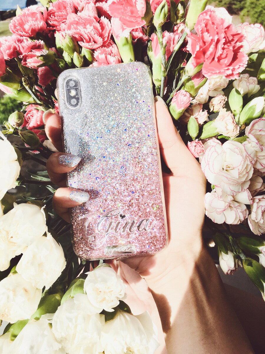 送料無料! srivi(シービー)Pixie Dust-Gold オリジナルカスタム携帯ケース★ モバイルケース スマホケース  samsung iPhonePlus iPhone X