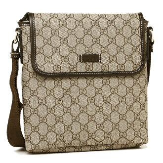 Gucci 的包包古奇 223666 KGDIG 8588 GG 加肩包深棕色