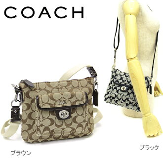 Coach COACH F45026 coach signature Pocket swing Pack shoulder bag choice of colors