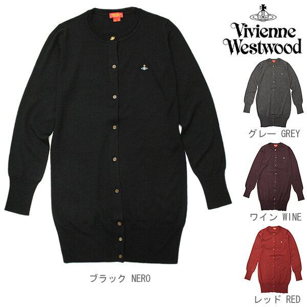 ヴィヴィアンウエストウッド カーディガン レディース Vivienne Westwood RED LABEL S26HA0256 S14144 長袖ニット 100%:ウール 選べるカラーサイズ