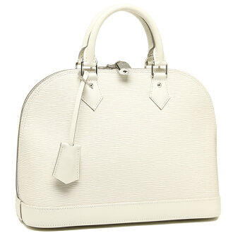 Louis Vuitton bag LOUIS VUITTON M4030J EPI leather Alma PM handbag white chocolate