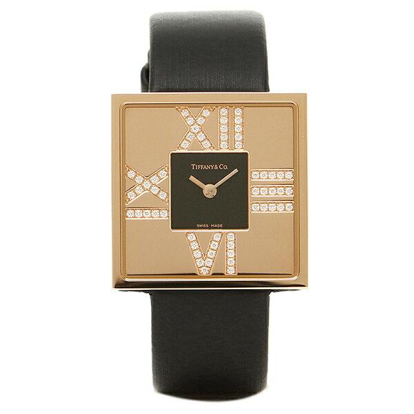 ティファニー 時計 レディース TIFFANY&Co. Z1950.10.30E10A40E ATLAS COCKTAIL SQUARE LADY 腕時計 ウォッチ ブラック