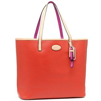 Coach bags outlet COACH F31326 SV/VR Park Metro leather tote bag Vermillion