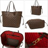 Louis Vuitton N41358 LOUIS VUITTON Damier neverfull MM pouch shoulder bag
