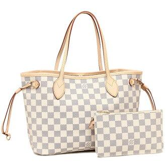 Louis Vuitton 包路易 · 威登 N41362 双色格子 Azur neverfull PM 手提袋