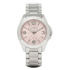 70d69f773a5f COACH コーチ 時計 レディース 14501782 TR1STEN トリステン 腕時計 ウォッチ ピンク/シルバー