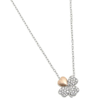 Swarovski necklace ladies SWAROVSKI 5076853 BETTER CLOVER NECKLACE pendant Silver / Pink