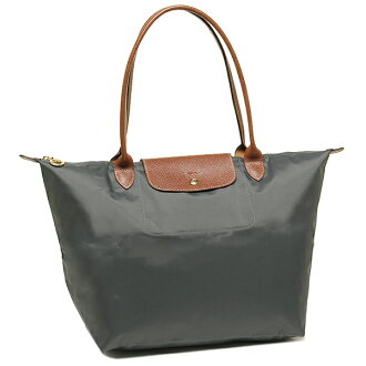1899 089 300 long chmp bag LONGCHAMP LE PLIAGE tote bag GUNMETAL