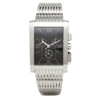 Gucci watch mens GUCCI YA086309 G Metro watch Watch Black / Silver
