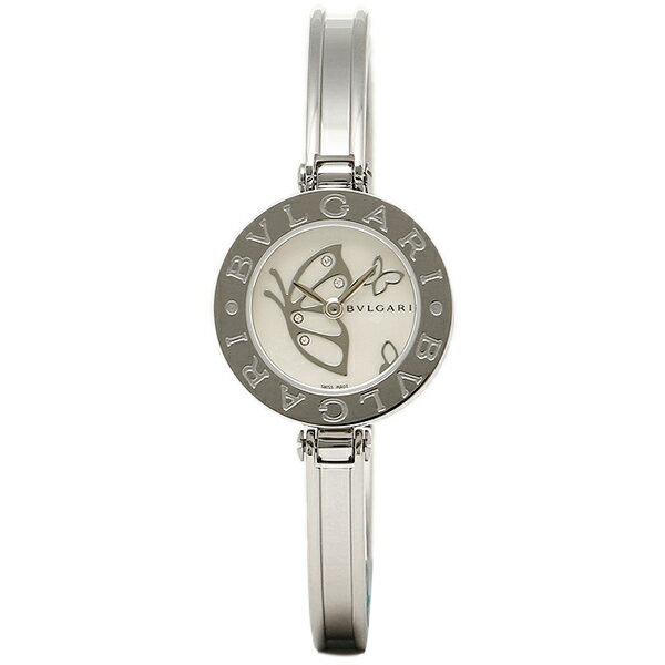 ブルガリ 時計 レディース BVLGARI BZ22BDSS.S B-ZERO1 ビーゼロワン 腕時計 ウォッチ シルバー/ホワイトパール