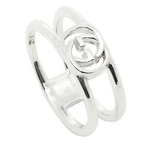GUCCI グッチ 指輪 リング アクセサリー レディース/メンズ グッチ 298036 J8400 8106 インターロッキングGチャーム 指輪 シルバー