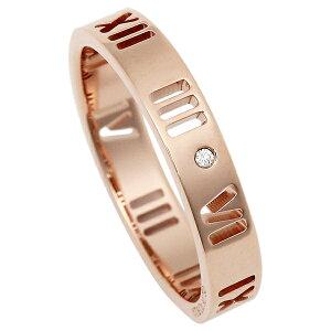 ティファニー リング アクセサリー アトラス ダイヤモンド 18K 指輪 ローズゴールド
