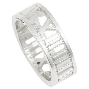 ティファニー リング アクセサリー TIFFANY&Co. アトラス ワイド オープン レディース 指輪 シルバー