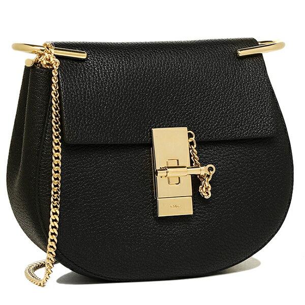 クロエ Chloe バッグ レディース ショルダーバッグ クロエ バッグ CHLOE 3S1032 944 001 ドリュー DREW MINI SHOULDER BAG W CHAIN ショルダーバッグ BLACK