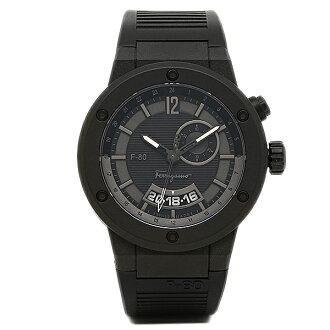 Salvatore Ferragamo watch men's Salvatore Ferragamo F55LGQ6877S113 f-80 watch watch black