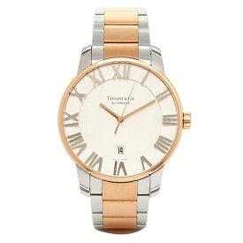 ティファニー 時計 メンズ TIFFANY&Co. Z1810.68.13A21A00A 自動巻 ATLAS DOME 腕時計 ウォッチ シルバー