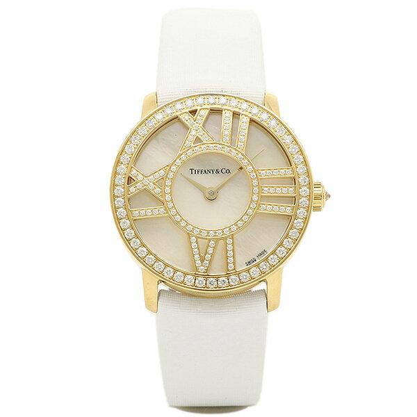 ティファニー 時計 レディース TIFFANY&Co. Z1900.10.50E91A40B ATLAS COCKTAIL ROUND 腕時計 ウォッチ ホワイトパール