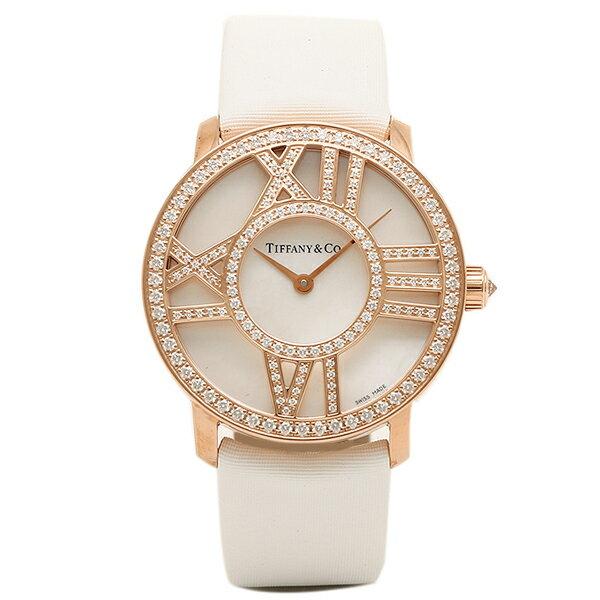 ティファニー 時計 レディース TIFFANY&Co. Z1901.10.30E91A40B ATLAS COCKTAIL ROUND 腕時計 ウォッチ ホワイトパール