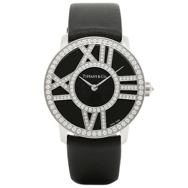 ティファニー 時計 レディース TIFFANY&Co. Z1901.10.40E10A40B ATLAS COCKTAIL ROUND 腕時計 ウォッチ ブラック
