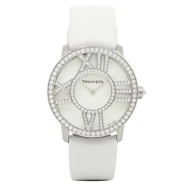 ティファニー 時計 レディース TIFFANY&Co. Z1901.10.40E91A40B ATLAS COCKTAIL ROUND 腕時計 ウォッチ ホワイトパール
